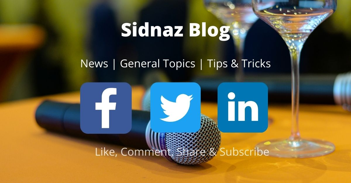 Sidnaz Blog