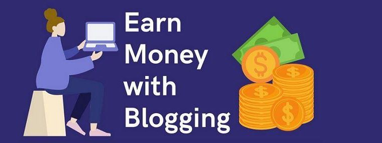 earn money online with blogging
