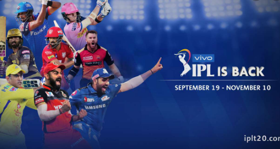 ipl 2020 live score and upcoming matchs